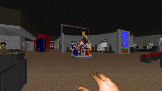 Visit a National Videogame Museum through Doom